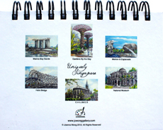 Jo's Uniquely Singapore Notebooks (Landscape)